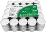 Podgrzewacze tealight 4h 100 sztuk w stosie pf10-100s