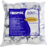 Podgrzewacze tealight 4,5h 100 sztuk w folii p15-100