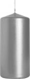 Świeca walec srebrny metalik sw50/100-271