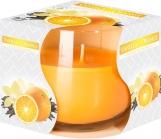 Świeca zapachowa w szkle Wanilia - Pomarańcza sn71-37
