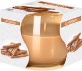 Świeca zapachowa w szkle Cynamon sn71-65