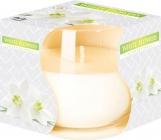 Świeca zapachowa w szkle Białe Kwiaty sn71-179
