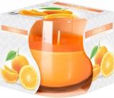 Świeca zapachowa w szkle Pomarańcza sn71-63