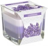 Świeca zapachowa trójkolorowa Lawenda snk80-79