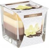 Świeca zapachowa trójkolorowa Wanilia snk80-67