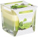 Świeca zapachowa trójkolorowa Zielona Herbata snk80-83