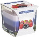Świeca zapachowa trójkolorowa Owoce Leśne snk80-13