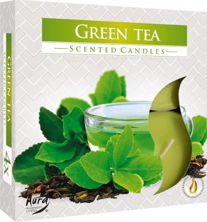 Podgrzewacze zapachowe maxi 4szt. Zielona Herbata p40-83