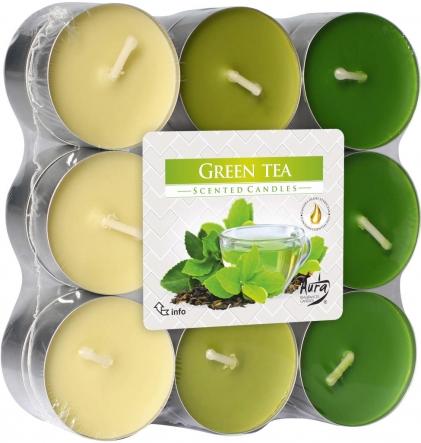 Podgrzewacze zapachowe 18szt. Zielona Herbata p15-18-83