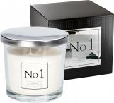 Stylowa świeca zapachowa No1 z dwoma knotami snp100-001