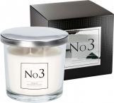 Stylowa świeca zapachowa No3 z dwoma knotami snp100-003