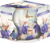 Świeca zapachowa Letni Poranek w szkle z wzorem sn71s-34