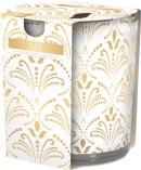 Świeca zapachowa Luxe w prostym szkle z wzorem sn72s-21