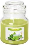 Świeca w szkle z wieczkiem Zielona Herbata snd71-83