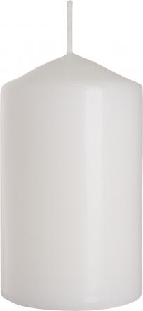 Świeca walec biały sw60/100-090