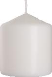 Świeca walec biała sw80/90-090