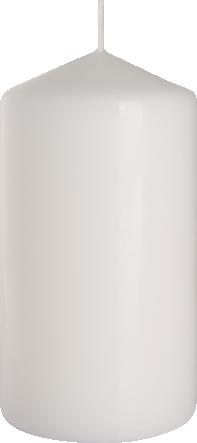 Świeca walec biała sw80/150-090