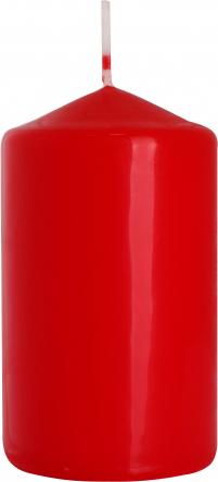 Świeca walec czerwony sw60/100-030