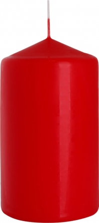 Świeca walec czerwony sw70/120-030