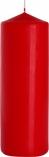 Świeca walec czerwony sw80/250-030