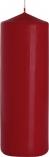 Świeca walec burgund sw80/250-036