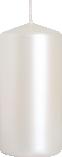 Świeca walec perłowa biel sw50/100-190