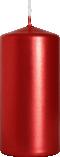 Świeca walec czerwony metalik sw50/100-230