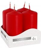 Świece wotywne czerwone  sw40/80-030