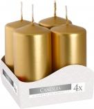 Świece wotywne złoty metalik sw40/80-213