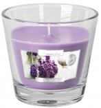Świeca zapachowa w szkle Aurelia Lawenda sn90-79