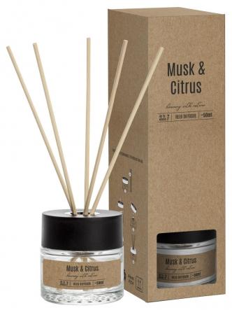 Dyfuzor zapachowy 50 ml MUSK & CITRUS dz50-328