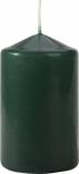 Świeca walec butelkowa zieleń sw60/100-060