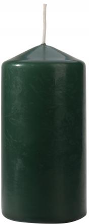 Świeca walec butelkowa zieleń sw60/120-060