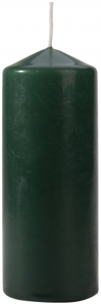 Świeca walec butelkowa zieleń sw60/150-060