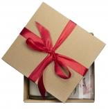 Zestaw walentynkowy EKO na Walentynki - 5 elementów, świece zapachowe i podgrzewacze