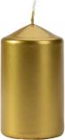 Świeca walec złoty metalik sw60/100-213