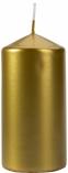 Świeca walec złoty metalik sw60/120-213
