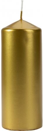 Świeca walec złoty metalik sw60/150-213