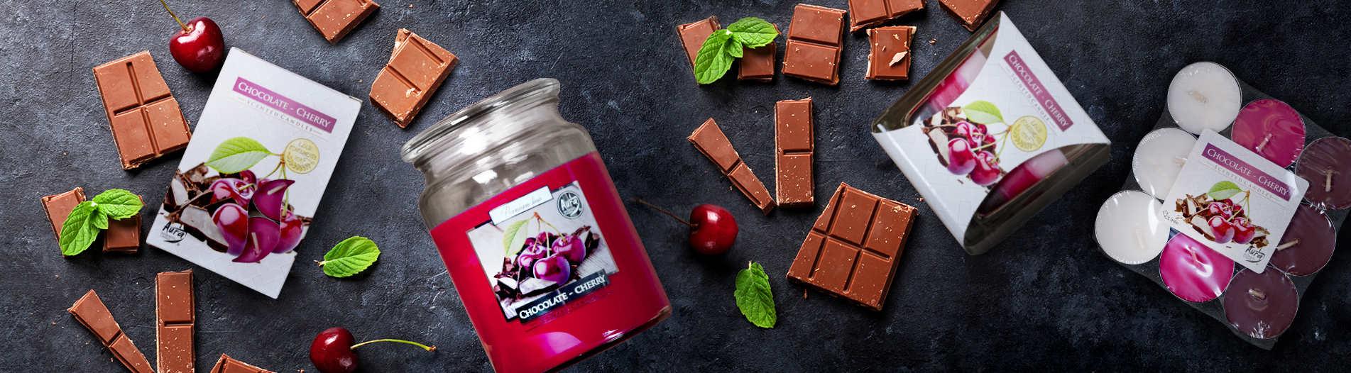 Zasmakuj soczystej wiśni z czekoladą!